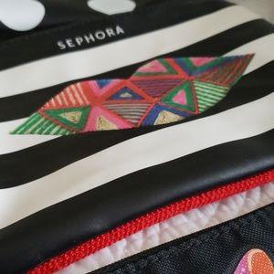 Sephora Bags - Sephora Makeup Bags (set of 7)